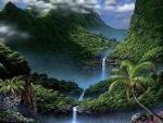 Mountains Falls