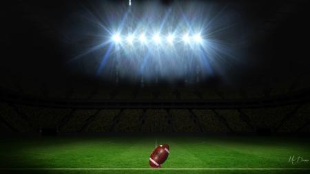 Friday Night Lights Football Sports Background