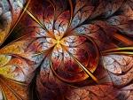 Abstract Floral Petals