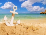 ✿⊱•╮Anchor on the Beach╭•⊰✿