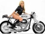 Cowgirl Bike Rider