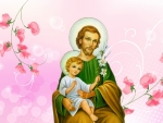 Saint Joseph and Christ