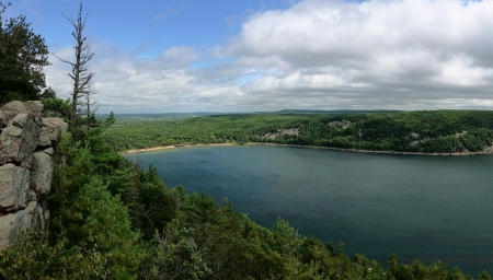 Devils Lake State Park - fun, cool, forest, nature, lake
