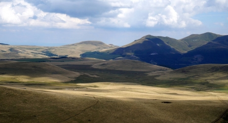 Sancy Mountains - mountain, cool, nature, fun, field