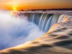 spectacular power of niagara falls hdr