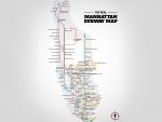 The Real Manhattan Subway Map