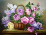 ✿⊱•╮Lilac & Roses╭•⊰✿