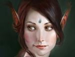 Whiteskin elf girl