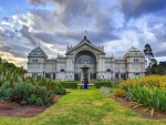 royal exhibition building in melbourne hdr