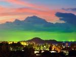 Horizon in Neon Colors