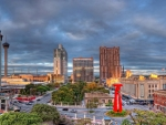 downtown san antonio texas hdr