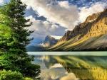 Sunny Clouds Lake