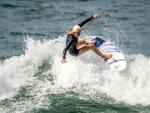 Surfer on Malibu Beach