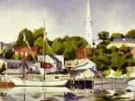 Summer Morning, Camden Harbor