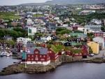 torshavn city in the faroe islands