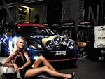Ford-Rally-Car-Girl