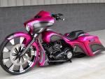 Pink Street Glide