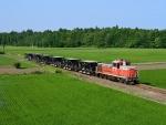 train in a field