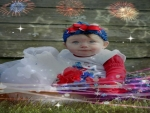 baby 4th of July
