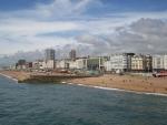 city beach in brighton england