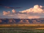 beautiful wide utah desert landscape