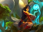Ahri the Nine Tailed fox