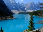 Lake in the Canadian Rockies, Alberta