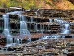 Waterfall in Zion Nat'l. Park, Utah
