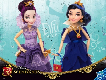 Mal and evie disney descendants wallpapers and images - Evie wallpaper ...