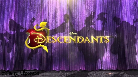 Disney Descendants Logo - Wallpaper, Descendants, Disney, Logo
