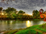 wonderful riverscape hdr