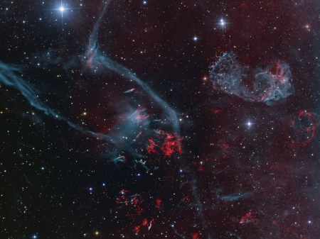 Puppis A Supernova Remnant - stars, cool, space, fun, galaxy