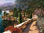 Mediterranean Sidewalk
