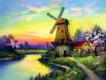 Windmill on Riverside