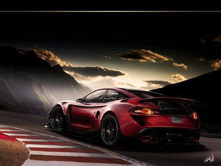 TESLA GT RS - tesla gt, tesla gt rs, supercar, tesla