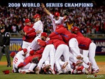 2008 World Series Champions the Philadelphia Phillies