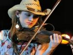 Fiddling Cowgirl