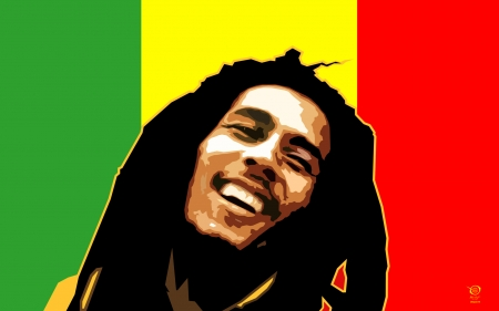 Bob Marley - zelko, bfvrp, fresh, music, portraits, design, bob, reagge, marley, cool, radic, images, digital, pictures, vector