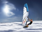 Wind Surfing on the Clouds