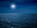 moonlight over the ocean