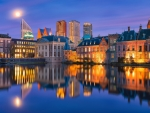 water reservoir in the hague netherlands dr