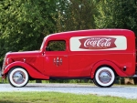 "1937 Ford Panel ""Coca Cola"" Van"