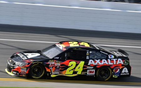 #24 Jeff Gordon Daytona Paint  - photo, champion, NASCAR, Florida, racing, driver, Jeff Gordon, 24, photography, Daytona 500, auto, wide screen, Gordon