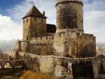 medieval bedzin castle in poland hdr