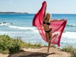 Bikini Model on the Beach