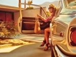 Painting by Carrie Graber