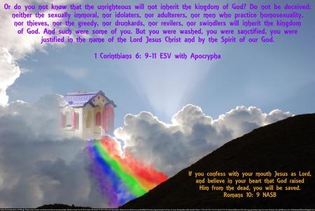 rainbow heaven other abstract background on desktop