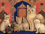 Catkin & Her Kittens