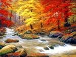 Boulder Creek in Autumn