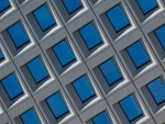 Blue and Silver Windows